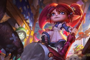 pc gaming league of legends poppy (league of legends) chenbo