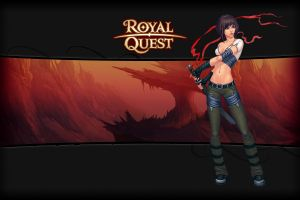 pc gaming video game girls video game characters royal quest video game art