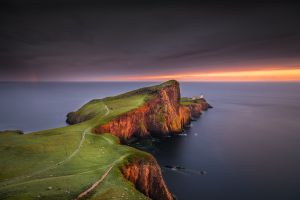 peninsula nature scotland neist point landscape cliff sea coast