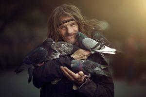 people photography birds depth of field