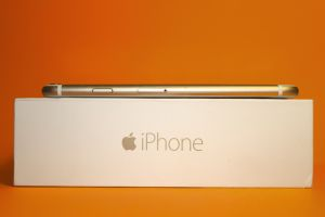 phone orange smartphone iphone iphone 6