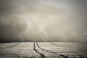 photography clouds nature monochrome landscape field