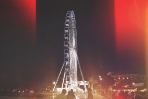 photography filter ferris wheel