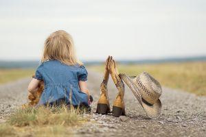 photography hat children boots