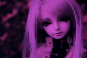 pink doll purple