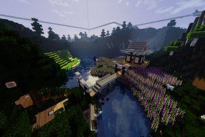 pixels minecraft nature video games