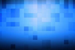 pixels minimalism minimalism blue square