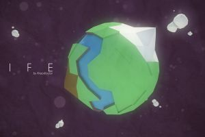planet cinema 4d stars low poly space geometry