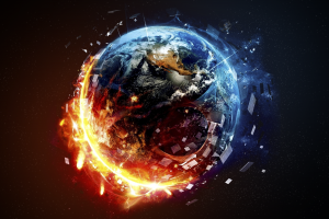 planet digital art abstract earth space space art