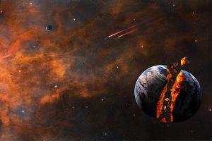 planet fantasy art space art