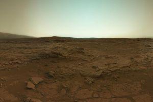planet mars sand