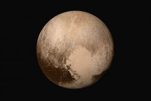 planet pluto space