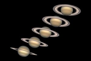 planet saturn space solar system