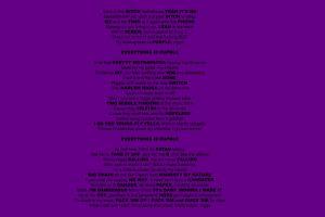 poetry purple background text purple
