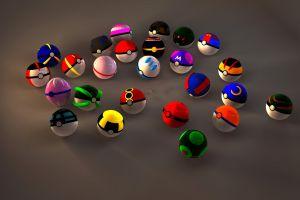 pokémon balls render