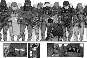 police monochrome manga anime ajin