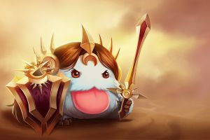 poro leona (league of legends) pc gaming