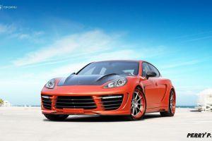 porsche car red cars