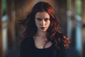 portrait model face ekaterina yasnogorodskaya redhead women