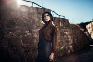 portrait women model