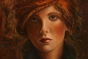 portrait women painting