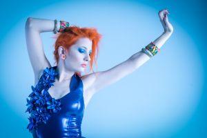 portrait women redhead