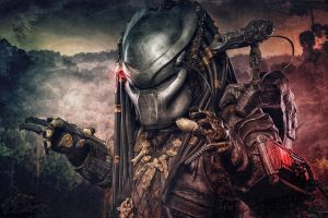predator (movie) movies digital art alien vs. predator science fiction helmet