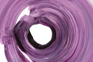 purple abstract circle colorful