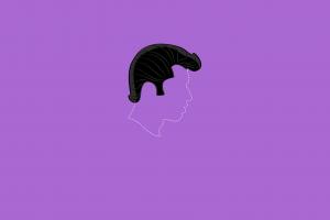 purple background minimalism grease: live!