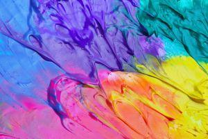 purple paint splash colorful