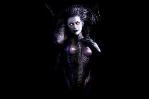 queen of blades artwork starcraft ii video games sarah kerrigan starcraft ii : heart of the swarm
