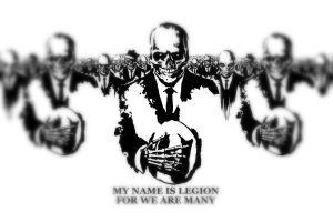 quote artwork horror tie monochrome skull suits