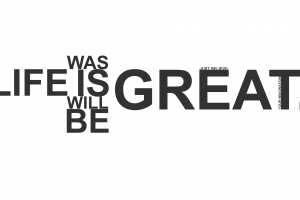 quote motivational monochrome simple background typography