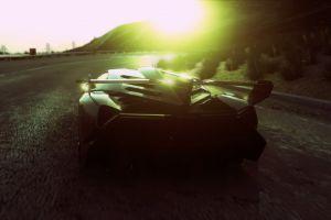 racing car racing driveclub driveclub lamborghini veneno