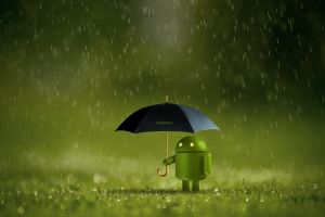 rain android (operating system) umbrella technology