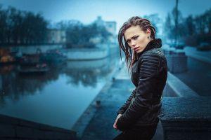 rain women ivan gorokhov dreadlocks black clothing cyan