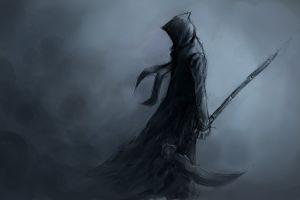 reaper death sword warrior dark hoods