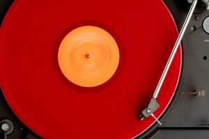 record players vinyl technology red turntables