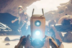 recore video game art robot