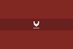 red background minimalism red