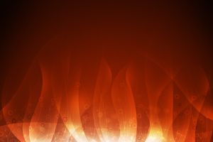 red background simple background fire shapes abstract burning digital art