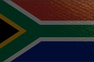 red green south africa blue flag