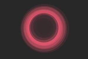 red minimalism circle minotaur