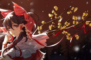 red ribbon hakurei reimu touhou