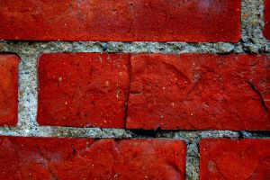 red texture wall bricks