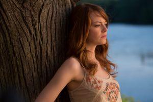redhead emma stone actress