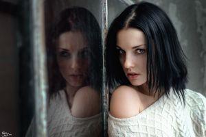 reflection alla berger face women glass model