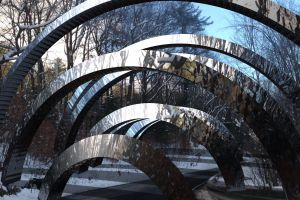 reflection arch photography
