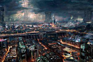 remember me cyberpunk city science fiction