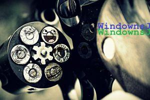 revolver gun smiley ammunition weapon